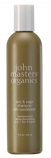 Zinc & Sage Shampoo with Conditioner