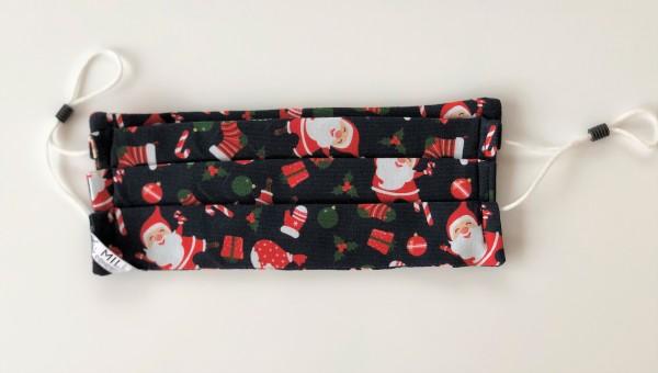 SANTA CLAUS Weihnachtsmaske flauschig weich