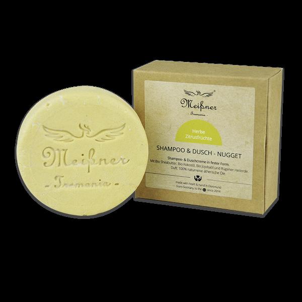 Herbe Zitrusfrüchte Shampoo-& Dusch-Nugget