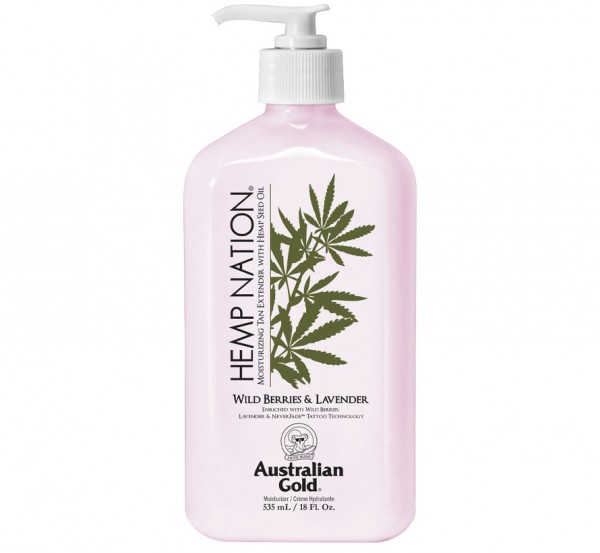 Hemp Nation After Sun Wild Berries & Lavender