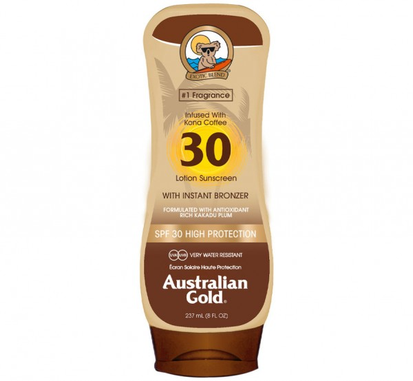SPF 30 Lotion with Bronzer
