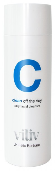 c - clean off the day