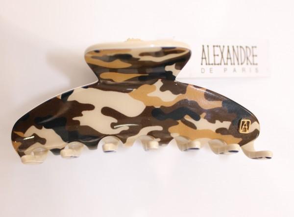 Haarklammer Groß Camouflage