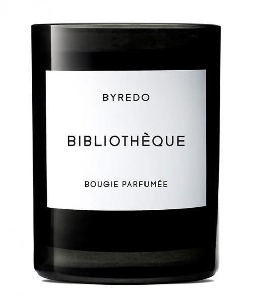 Bibliothèque Bougie Parfumée