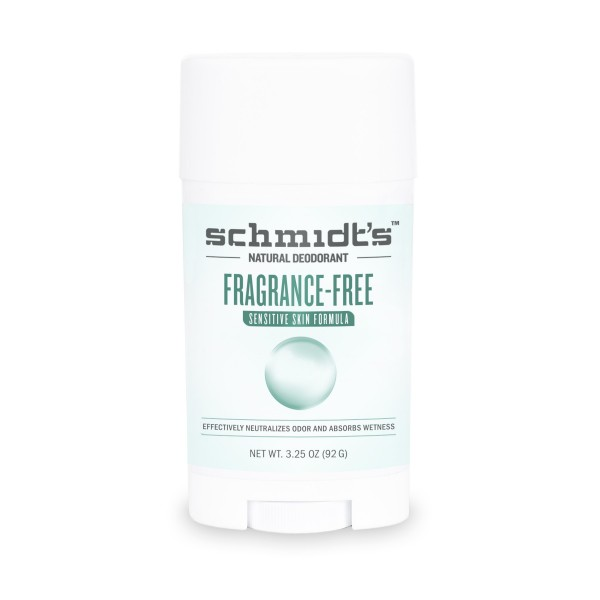 Schmidt's Deodorant Stick Fragrance Free Sensitive Skin